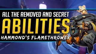 Overwatch History - Removed and Secret unused Abilities