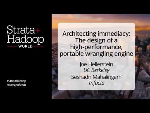 Architecting Immediacy: The Design of a High Performance Portable Wrangling Engine