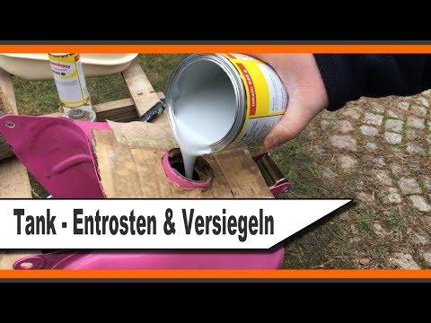 Häufig Tankversiegelung / Tanksanierung - Reinigen & Entrosten AF25