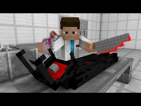 Monster School: Enderman Operation! (Minecraft Animation)