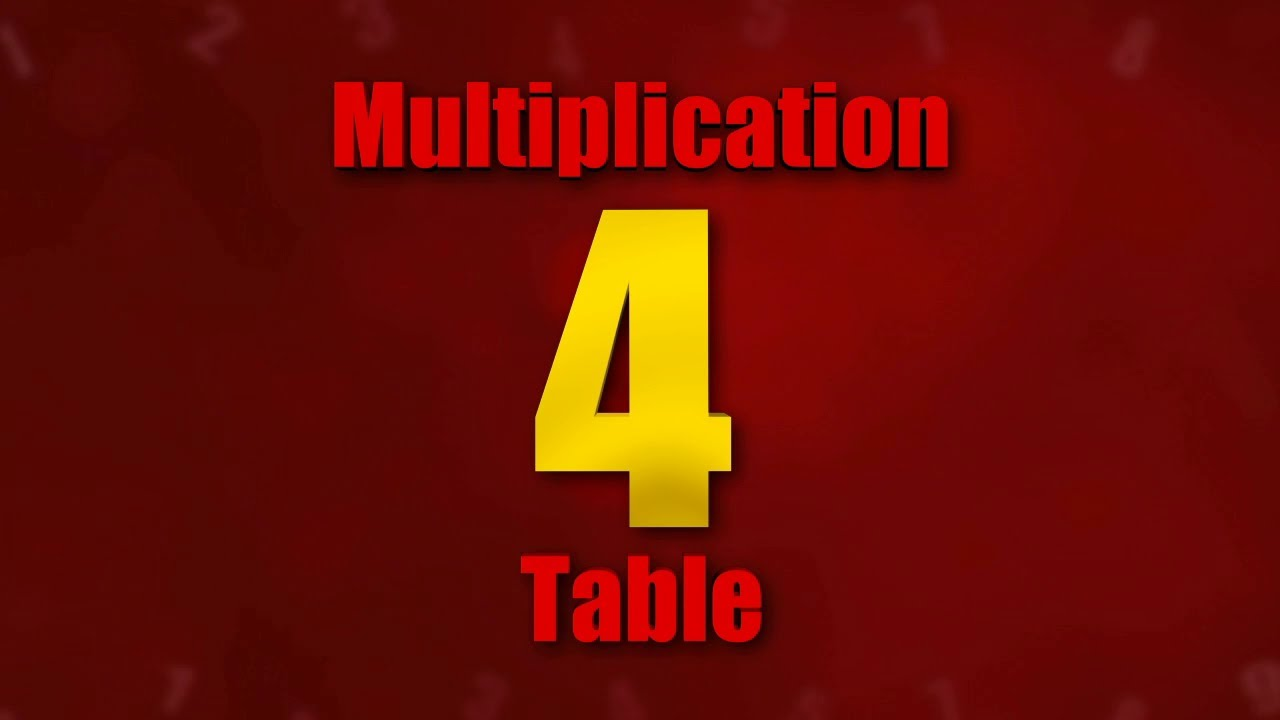 Table 04 multiplication tables 3d animation videos for kids table 04 multiplication tables 3d animation videos for kids gamestrikefo Gallery
