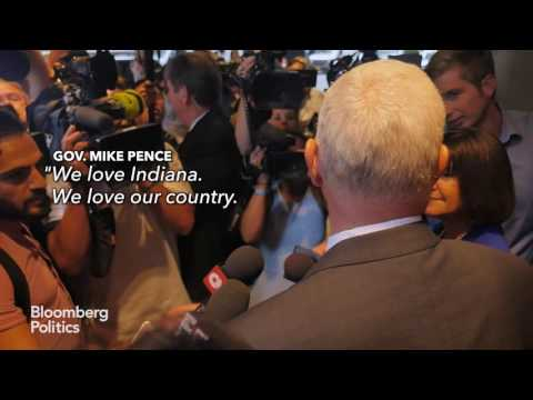 Mike Pence on Being Chosen as Donald Trump's Running Mate