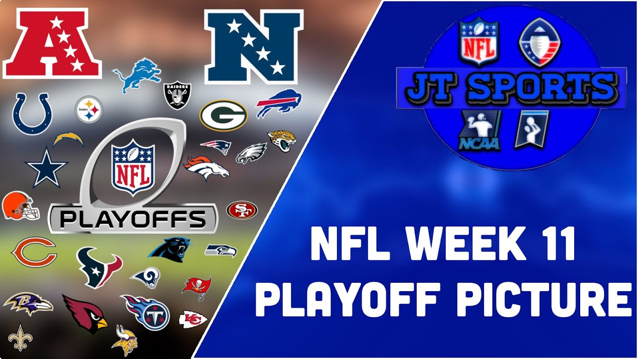 2019 NFL Playoff Picture, Week 11: Raiders making playoff push ...