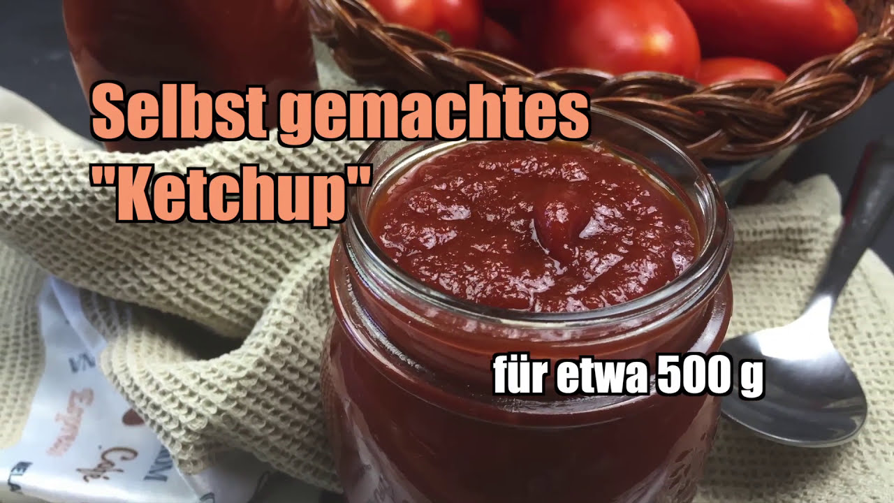 tomatenketchup selber machen ketchup rezept youtube. Black Bedroom Furniture Sets. Home Design Ideas