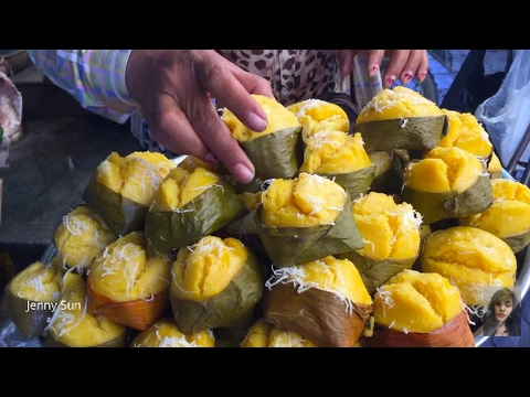 Asian Market Street Food, Amazing Food Compilation In My Village, Cambodian Market Food