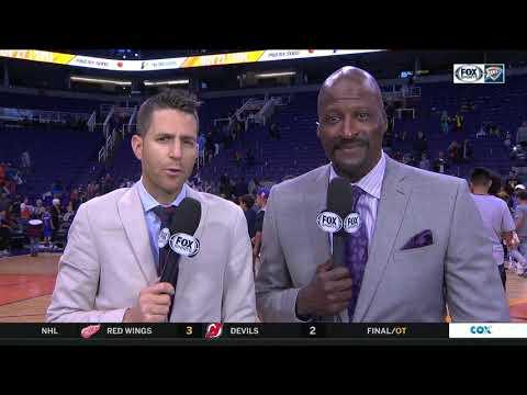 NBA HIGHLIGHTS: Paul George, Steven Adams push Oklahoma City Thunder to beat Phoenix Suns