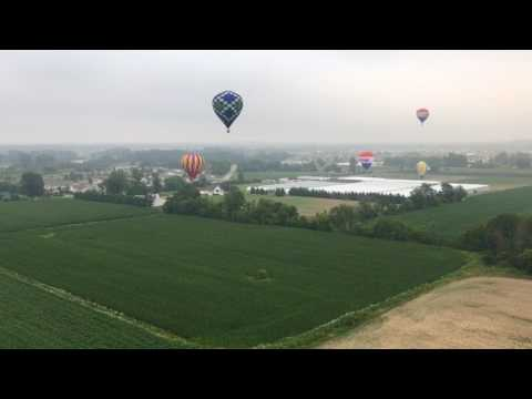 Views from the Grand Rapids Balloon Festival