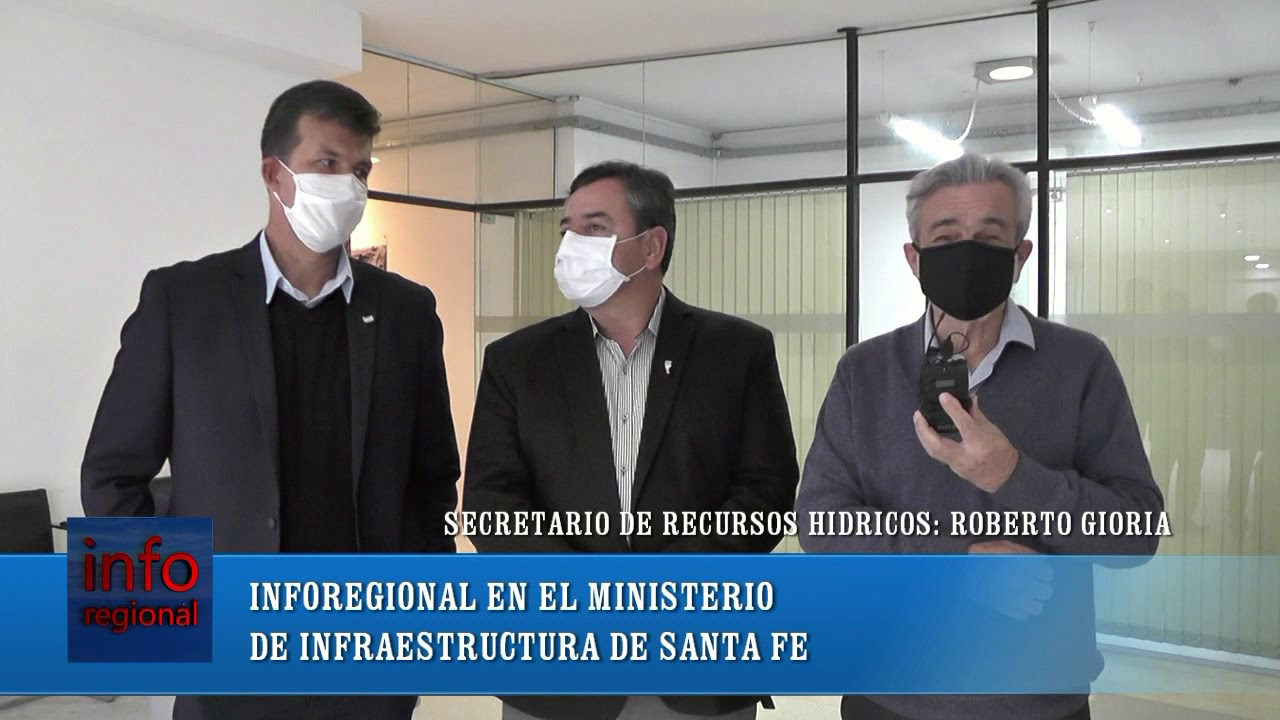 INFRAESTRUCTURA DE SANTA FE/ROBERTO GIORIA/LEO DIANA/JUAN GUFI/INFOREGIONAL