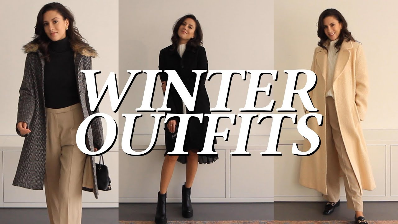 Winter Fashion Trends 2020 & Outfit Ideas - YouTube