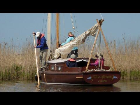 UKWA Wayfarer Norfolk Broads Cruise  part one