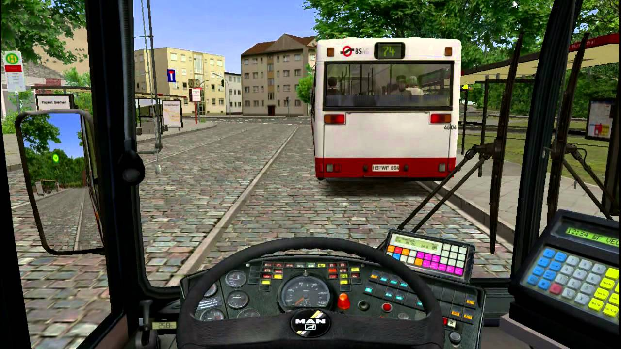 Omsi 2 Map Projekt Bremen Route 76 Man NG272 YouTube