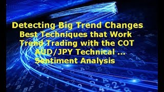 Forex Technical Analysis & Sentiment Trend Trading with COT AUD/JPY Big Move to Downside Coming?...