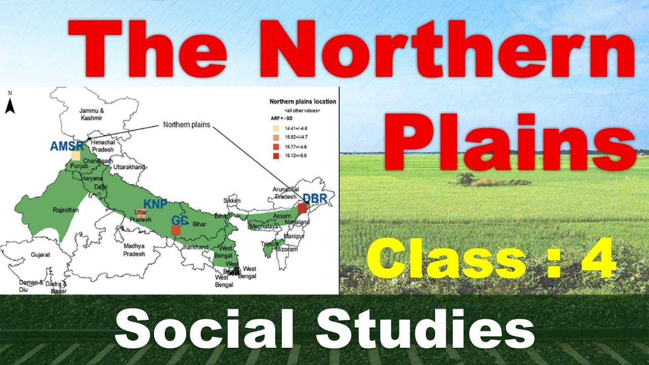 The Northern Plains | Class - 4 | Social Studies | CBSE / NCERT Syllabus | Rivers in Plains