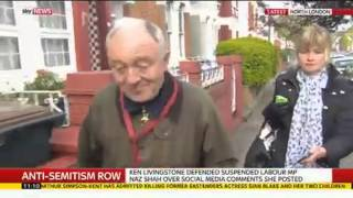 Ken Livingstone Has No Comment When Asked About Anti-Semitism Row