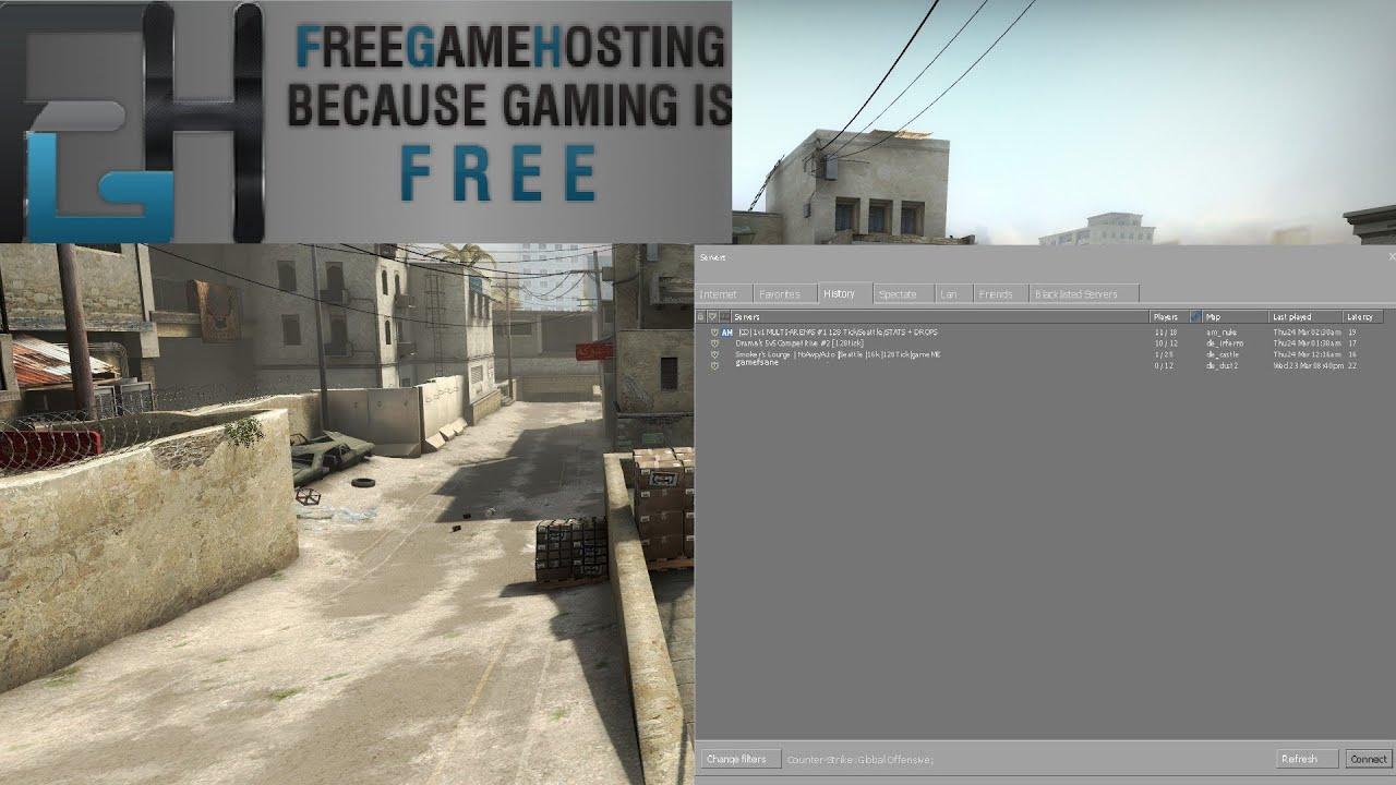 Бесплатный cs go хостинг что делать если сайт заблокировал хостинг провайдер