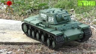 танки на Радиоуправлении. Радиоуправляемый танк Heng Long KV-1 1:16