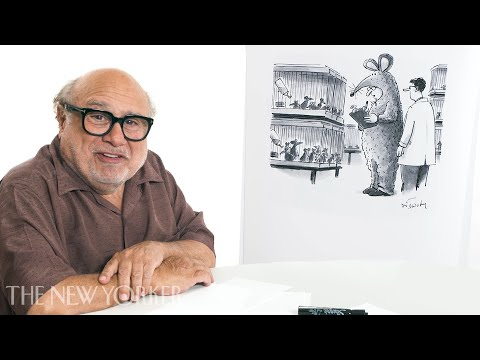 Danny DeVito Enters The New Yorker's Cartoon Caption Contest | The New Yorker