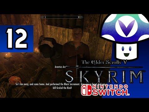 [Vinesauce] Vinny - The Elder Scrolls V: Skyrim [Switch] (part 12) + Art!