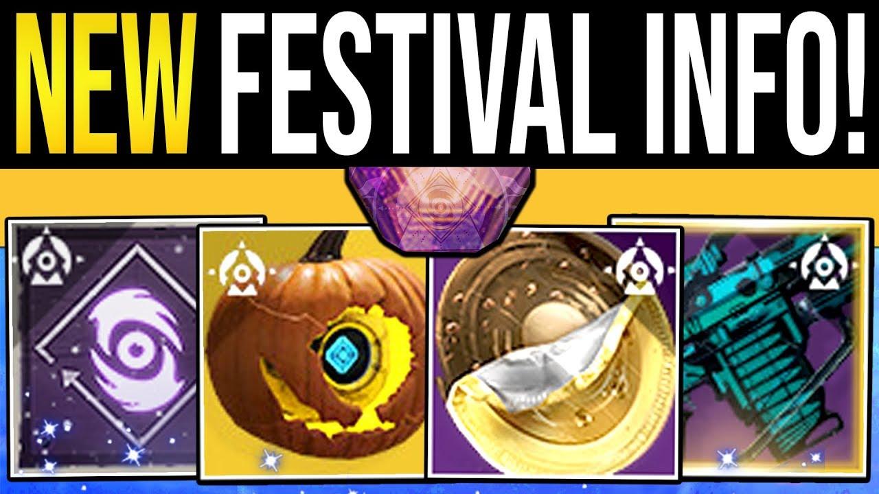 Destiny 2 | FESTIVAL REVEALED & NEW REWARDS! Event Armor, Weapon Quest, Broom Sparrow & Exot