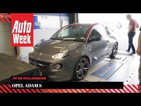 Opel Adam S – Op de Rollenbank