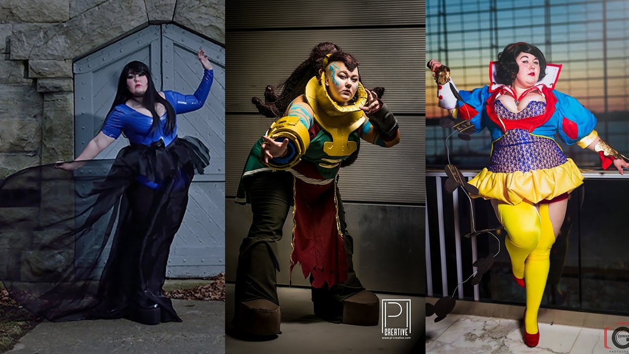 Can defined? sexy plus size cosplay well