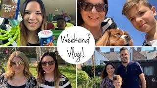 Weekend Vlog | Poundland Haul | Car Boot Haul | Easter Egg Hunt!