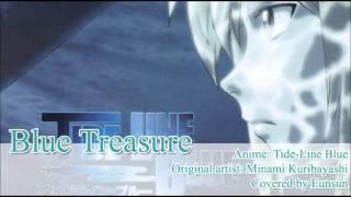 Tide-line Blue - Blue Treasure