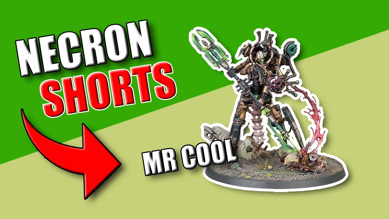 Illuminor Szeras 9th Edition - Necron #Shorts