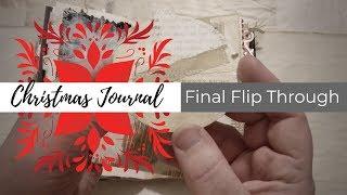 2018 Dollar Store Christmas Junk Journal Challenge #DSCJJC - Final Flip Through - For Sale