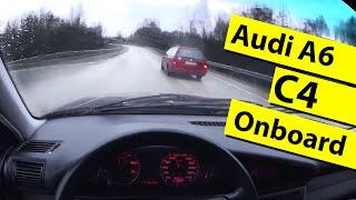 Audi A6 C4 Onboard (2.0i, 1995)