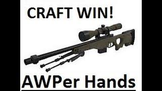 Team Fortress 2 AWPer hand craft win!