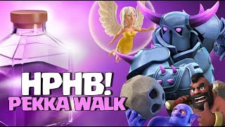 TH9 HPHB PEKKA Walk | Healers + Pekka + Hogs + Bowlers | Angry Angels event coc clash of clans