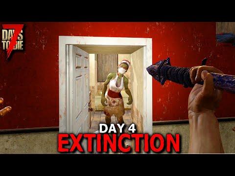 7 Days to Die: Extinction - Day 4 | 7 Days to Die (Alpha 19 Gameplay)