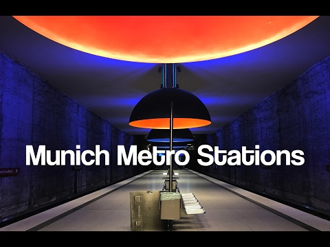 Munich Metro Stations - Architecture Explained