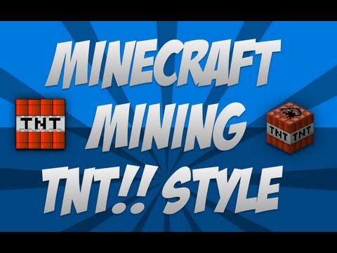 Minecraft Xbox 360 - Mining TNT Style!!! - Ep. 2