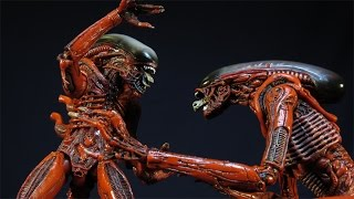 neca alien genocide dog runner and big chap drone 2 pack xenomorph concept figure review