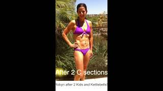 The Kettlebell Body Transformation  3 C - Sections and Back Pain Gone!