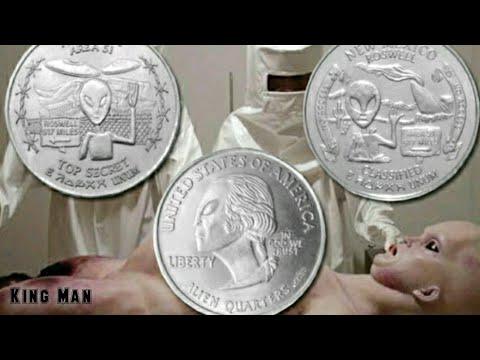 Monedas extraterrestres encontradas en cuevas o excavaciones de todo el mundo