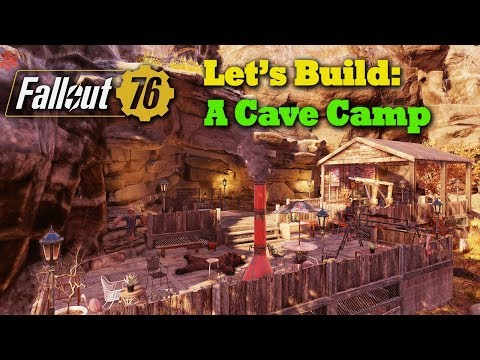 Fallout 76 C.A.M.P. Builds: A Cave Camp thumbnail