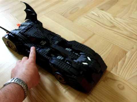 lego 7784 batman car moving youtube. Black Bedroom Furniture Sets. Home Design Ideas