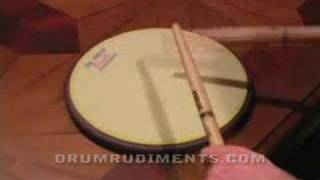 Drum Rudiments #37 - Drag Paradiddle #2 - DrumRudiments.com
