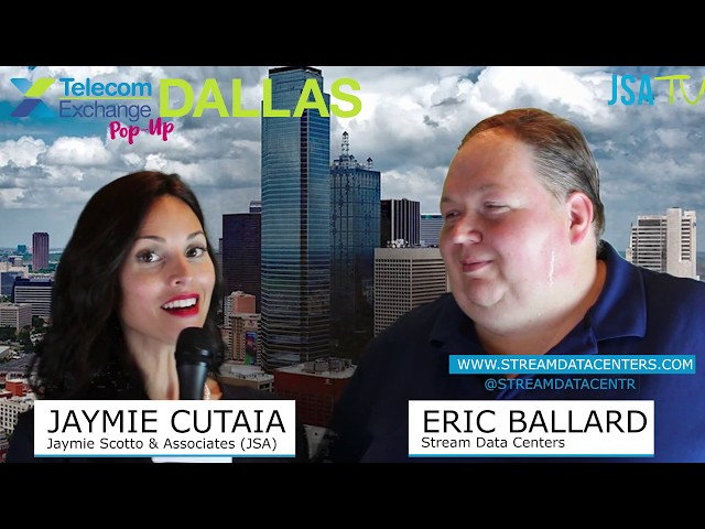 TEX Dallas Pop-Up 2019: Stream Data Centers on Rapid Growth, New Hyperscale Data Center in Phoenix