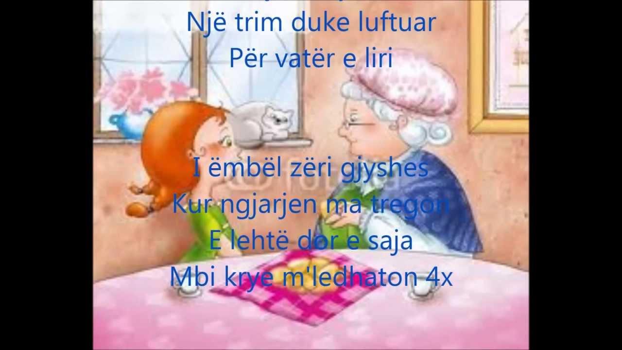 Download Kenga e Gjyshes me tekst ne shqip