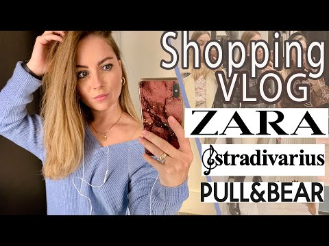 Шоппинг ВЛОГ STRADIVARIUS ZARA PULL & BEAR | SHOPPING VLOG | шопинг влог 2019
