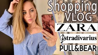 Шоппинг ВЛОГ STRADIVARIUS ZARA PULL BEAR SHOPPING VLOG шопинг влог 2019