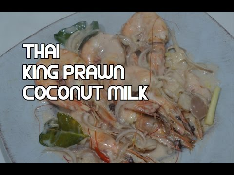 Easy Thai Shrimp & Coconut Milk Recipe – King Prawns