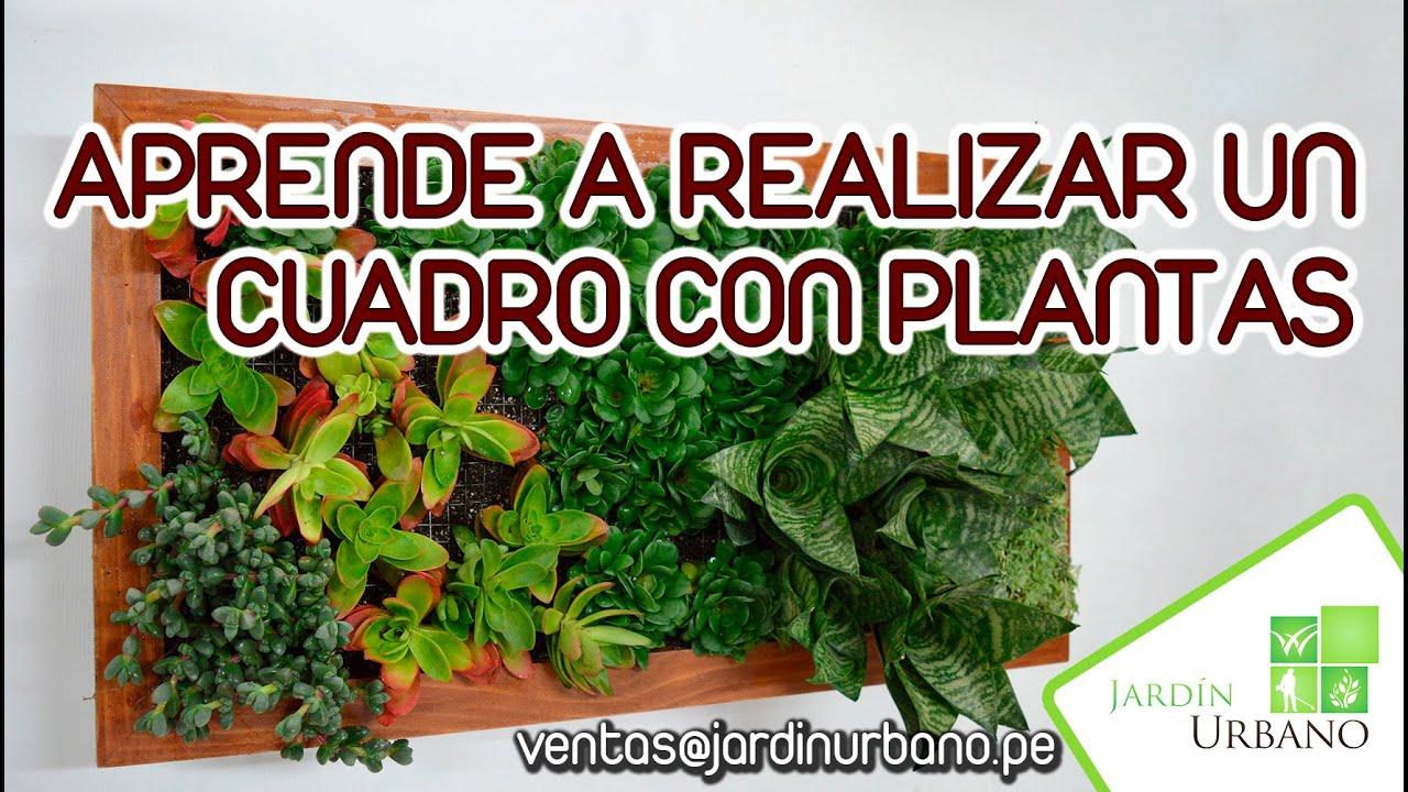 Como hacer mi cuadro vertical youtube - Como decorar mi jardin ...