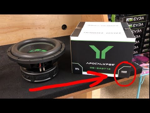WHAT IS RMS / PEAK / BURST POWER ON SUBWOOFERS?