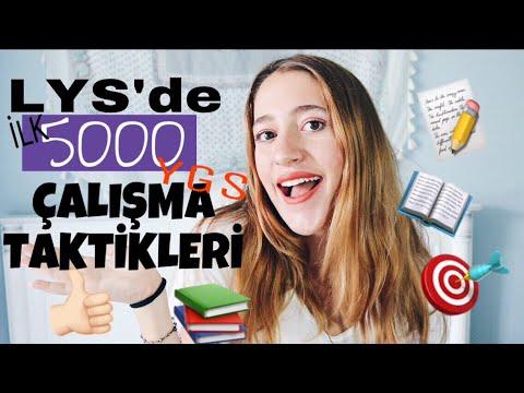 İLK 5000!! YGS-LYS ÇALIŞMA TAKTİKLERİ!!