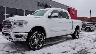 2020 Ram 1500 Limited With Multi-Function Tailgate